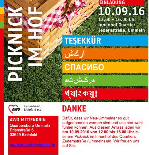 Picknick im Hof